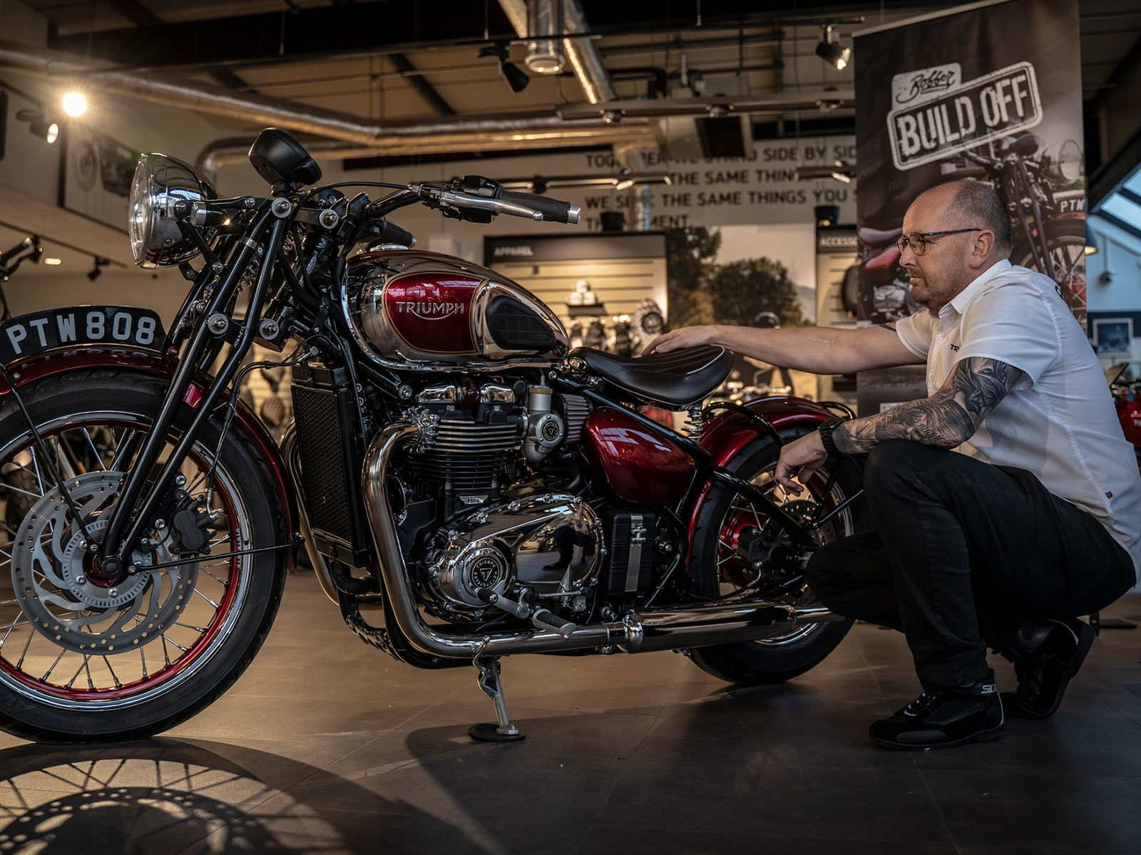 your bike is in safe hands with Pure Triumph